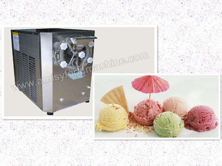 Link:http://amisyfoodmachine.com/product/ice-cream/ice-cream-machine/Hard-Icecream-Machine.html Email: info@amisymachine.com The hard ice cream machine is designed to produce superb hard ice cream consistently and efficiently. Ice cream powder, milk powder and other various kinds of powders can be used as the raw material to make different-flavor hard ice cream, adopting advanced technology, high efficient compressor and world-class refrigeration fittings for optimum performance.