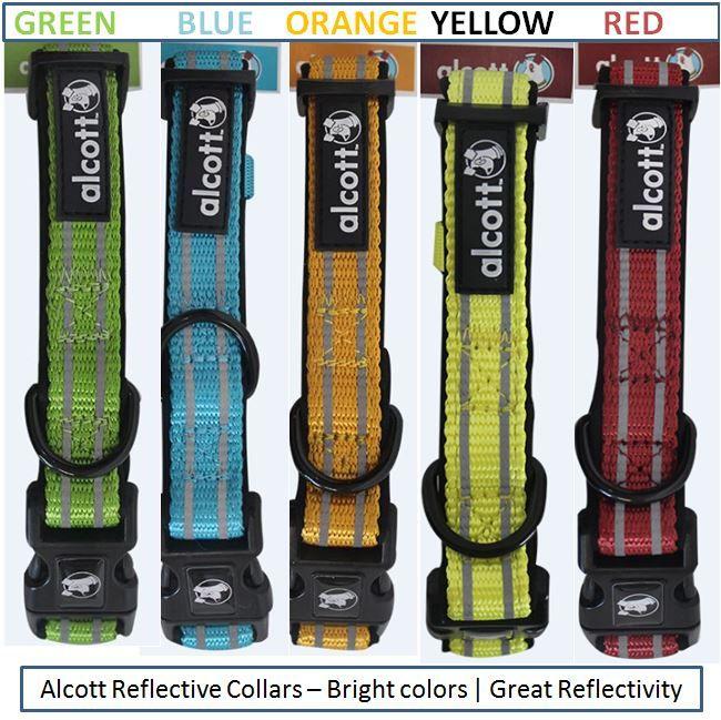 Alcott Reflective Dog Collars | Reflective Dog Collars with Neoprene Padding