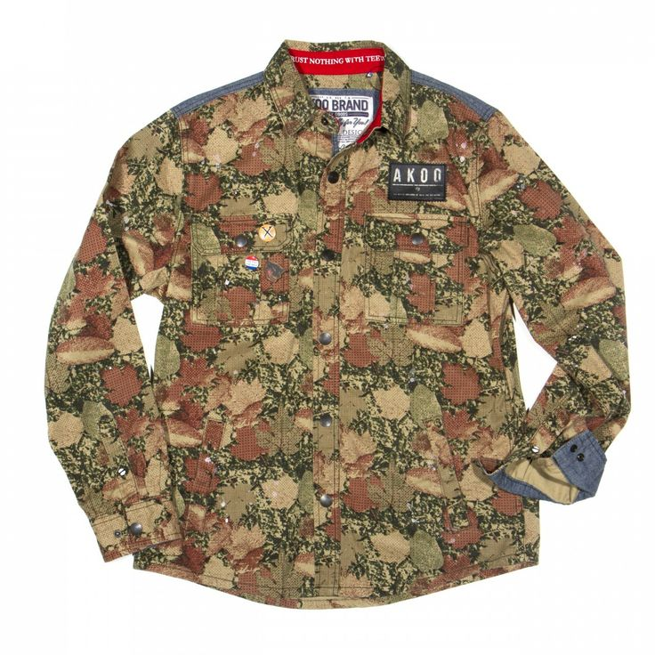Men's Fashion Flash: T.I.'s Trouble Man: Heavy is The Head Celebration Akoo Camo Woodsman Button Up Shirt - The Fashion Bomb Blog : Celebrity Fashion, Fashion News, What To Wear, Runway Show Reviews