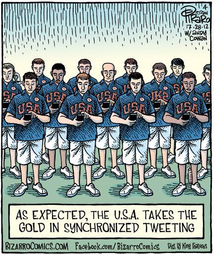 New Olympic Sport: Synchronized Tweeting