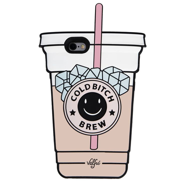 Cold Bitch Brew 3D iPhone 6+/6s PLUS Case - Valfre - 1