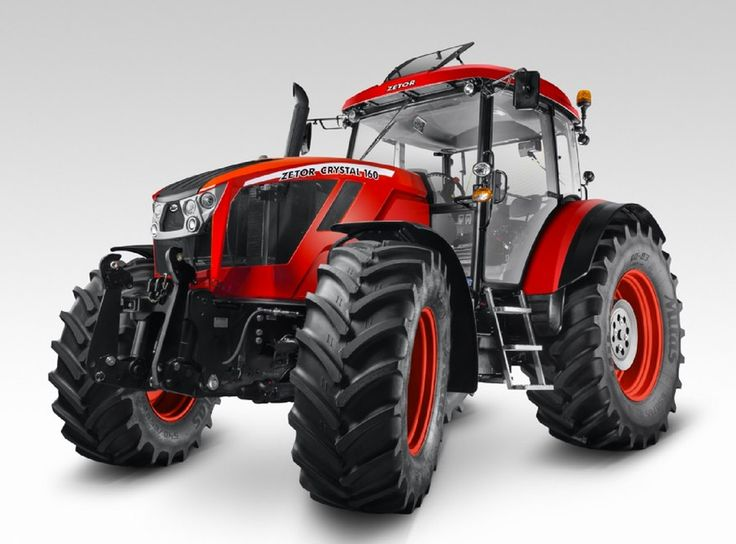 The Zetor Crystal 160 stock tractor actually looks pretty good, too