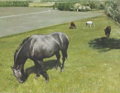 Ola Billgren (Swedish, 1940-2001), Löderup, 1973