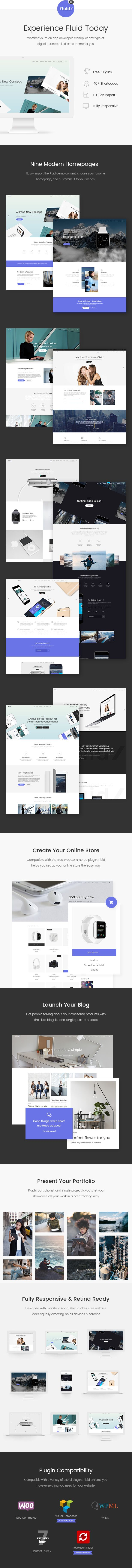 Fluid - A Theme for Apps, Startups, and Digital Businesses by Edge-Themes