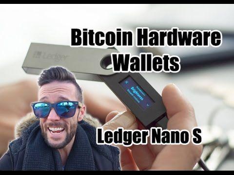 How To Use A Bitcoin Hardware Wallet - Ledger Nano S - YouTube