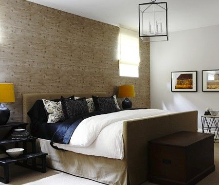 Lower Level Guest Bedroom | Photo Gallery: Budget Basement Decorating Tips  | House U0026