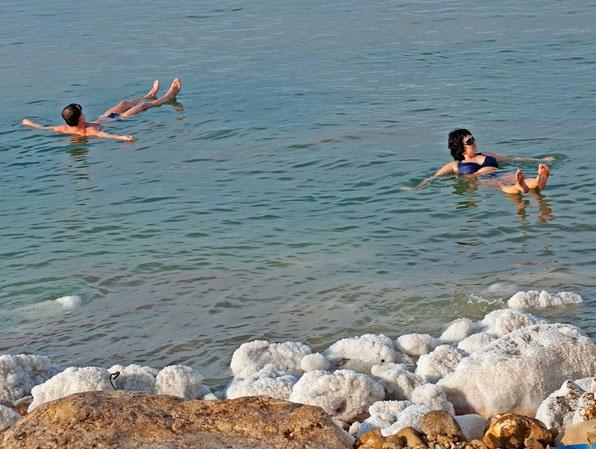 Treatments using Dead Sea mud and salt are available at Zara Spa at Jordan's Movenpick Resort.