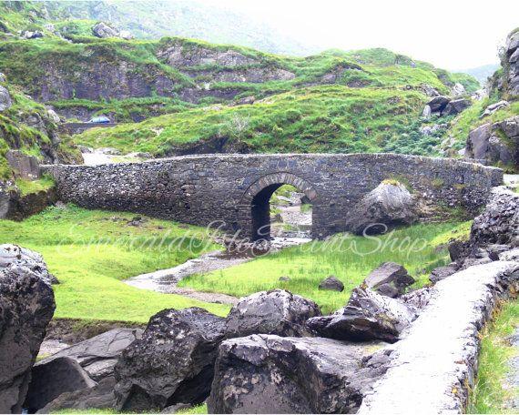 Old Stone Bridge in Gap Of Dunloe. by EmeraldIslePrintShop on Etsy