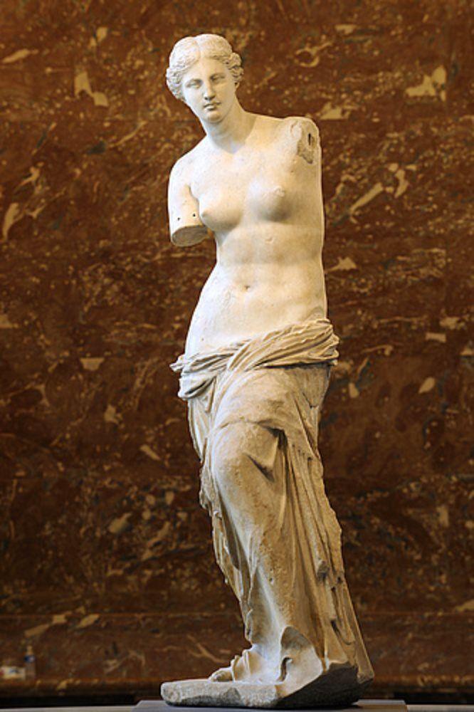 Venus de Milo. Grecia (110 a. C.)