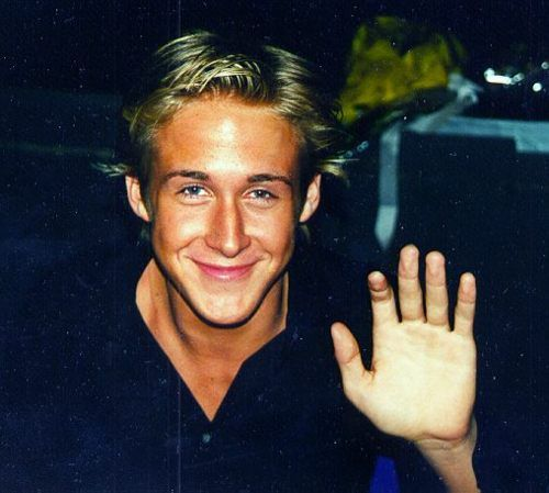 Ryan Gosling. This man will be living with me in our future home together. Thank you. That is all.