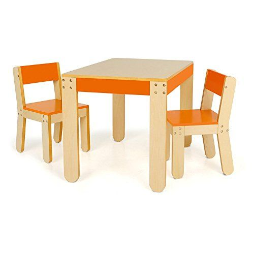 Delicieux Midcentury Modern Pkolino Little Oneu0027s Table And Chairs