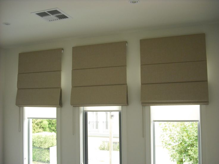 Image result for brown roman blinds