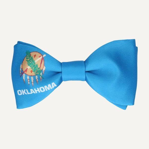 BOW TIE OF OKLAHOMA STATE FLAG