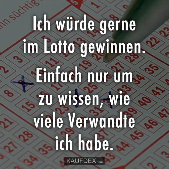 Ich Will Im Lotto Gewinnen