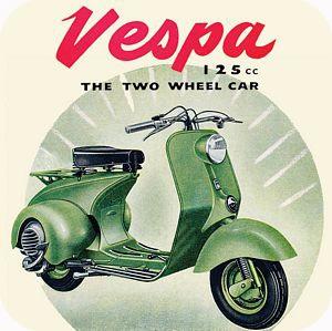 CT070 - Vespa Scooter