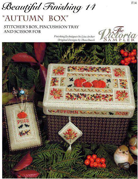 Autumn Box - Beautiful Finishing 14 - Cross Stitch Pattern