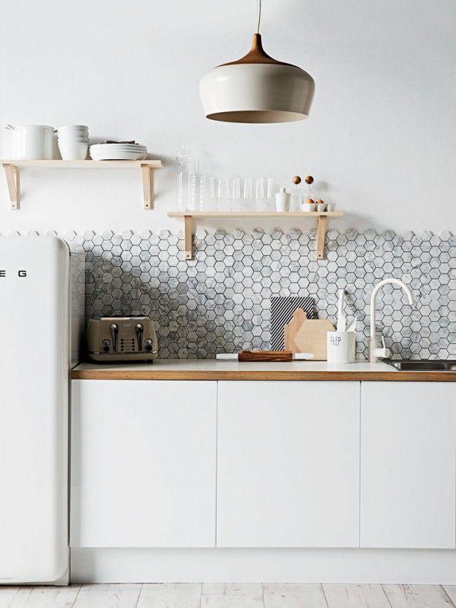 HappyModern.RU | Керамическая плитка для кухни на фартук: особенности выбора и оформления |…