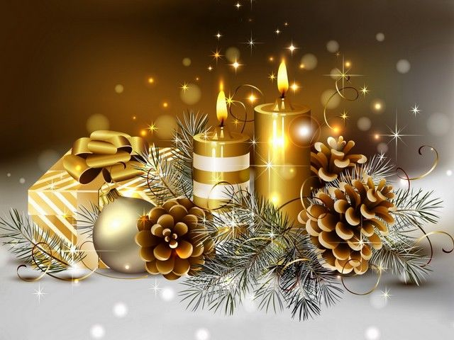 Golden Christmas Wallpaper - Luxurious wallpaper with Christmas decoration in magnificent golden shades. - , golden, Christmas, wallpaper, wallpapers, holiday, holidays, luxurious, decoration, decorations, magnificent, shades, shade - Luxurious wallpaper with Christmas decoration in magnificent golden shades. Solve free online Golden Christmas Wallpaper puzzle games or send Golden Christmas Wallpaper puzzle game greeting ecards  from puzzles-games.eu.. Golden Christmas Wallpaper puzzle…