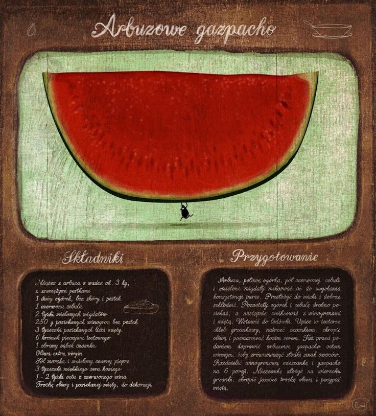 emiis: Arbuzowe gazpacho