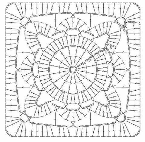 33 best Crochet Granys variado images on Pinterest