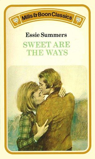 A little more passion in the cover of the 1976 novel Sweet Are the Ways