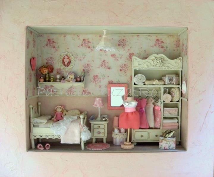 Girl's bedroom in a box.
