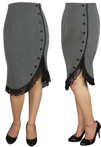 Pinup Ruffle Skirt by Amber Middaugh