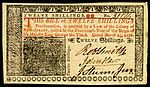 As in Great Britain, cash in the colonies was denominated in pounds, shillings, and pence The value varied from colony to colony; a Massachusetts pound, for example, was not equivalent to a Pennsylvania pound. All colonial pounds were of less value than the British pound sterling. The prevalence of the Spanish dollar in the colonies led to the money of the United States being denominated in dollars rather than pounds. Picture of colonial currency issued in NJ...
