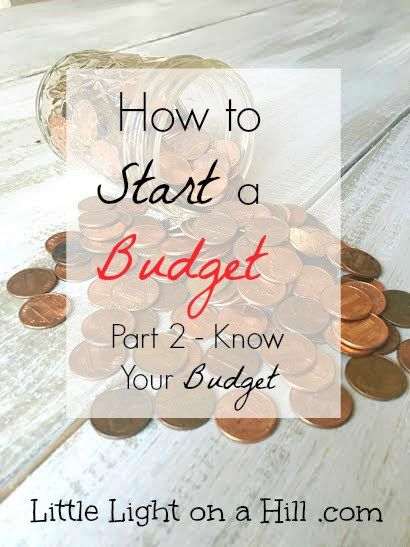 Making a budget doesn't have to be difficult.  Here are step by step directions on how to start a budget you can actually stick with!