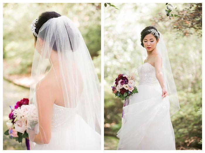 Kelli + Daniel Taylor Photography, LLC Blog » Birmingham-based wedding photography,Bridal session at Birmingham Botanical Gardens. HMUA Melissa Moore Bogardus. Florals by Mandy Busby.