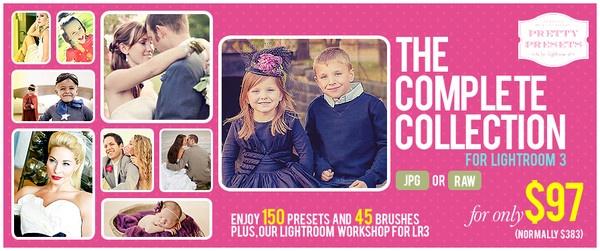 75% Off Complete Collection for Lightroom 3 + BONUSES!!