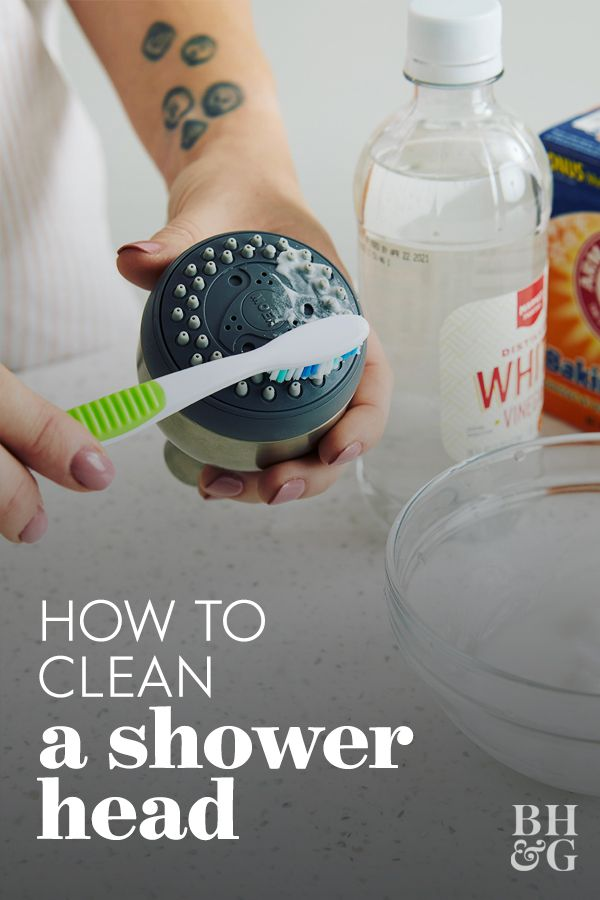 How To Clean A Showerhead Using Basic Pantry Ingredients Cleaning Hacks Clean House House Cleaning Tips
