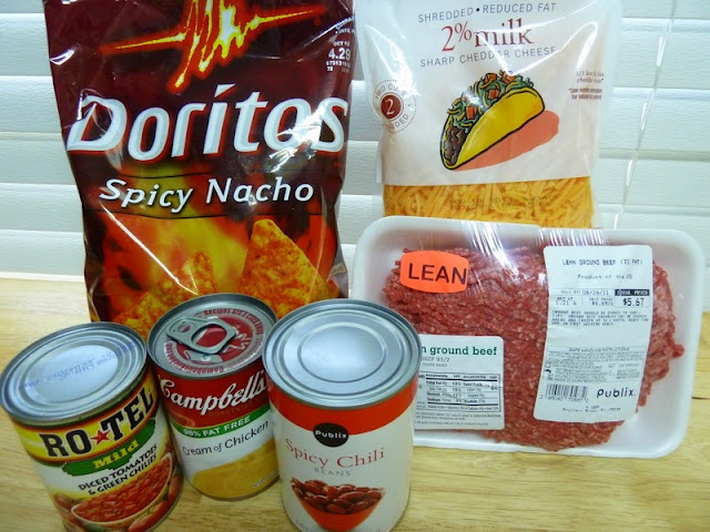 Mexican Dorito Casserole- I'm always looking for a new recipe for ground beef... going to give this one a whirl...