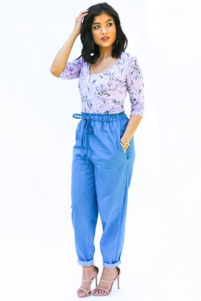 Luisa Trousers Pdf Pattern Pdf Patterns And Fabrics