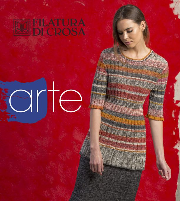 Filatura Di Crosa ARTE: The collection, inspired by renowned Italian artists…