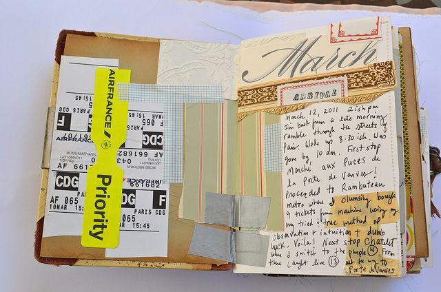 Travel Journal, Paris - enjoy the whole set! - SM