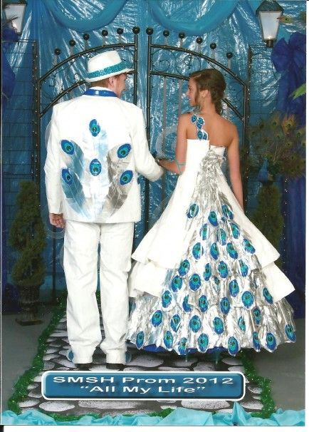 I'm not quite sure how I feel about this. I like the dress overall but the tux...no