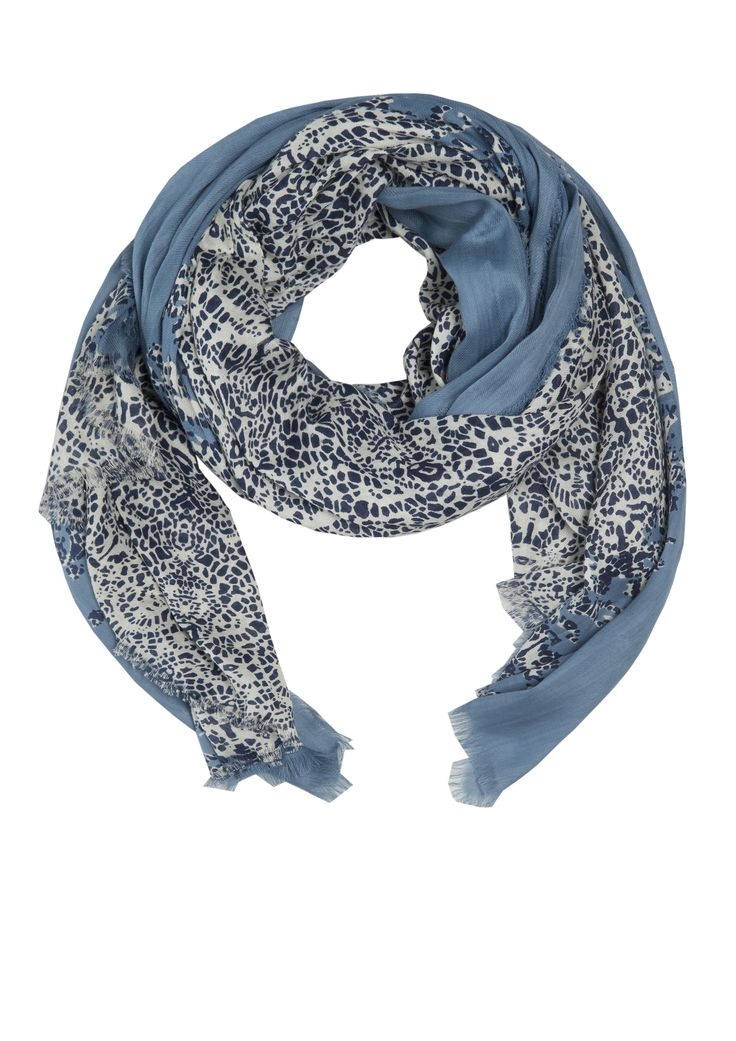 Lui scarf - Fragments Steel