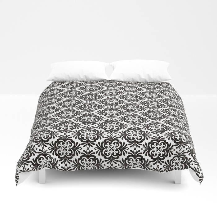 black white damask duvet beddingfull king queen size duvet covermodern minimalist bedding