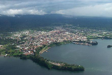 Port of Malabo; Equatorial Guinea (Spanish: Guinea Ecuatorial), officially the Republic of Equatorial Guinea (Spanish: República de Guinea Ec… | Africa | Pinte…