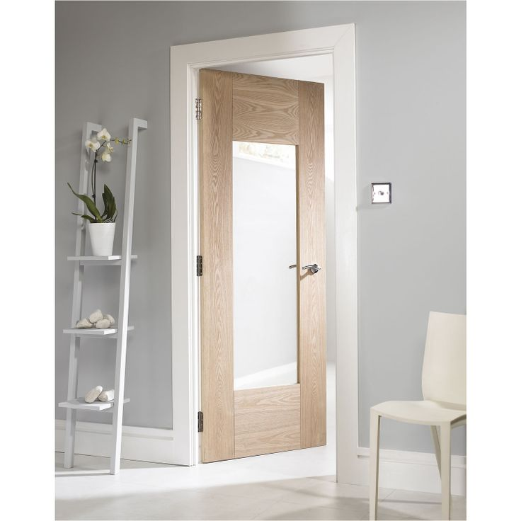 GLAZED OAK DOOR OPTIONS. Oak Newland Shaker Glazed Internal Door_A_SS-2.jpg 1,500×1,500 pixels