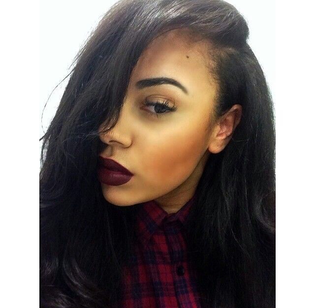 42 Best Images About Deep Side Part Weave On Pinterest