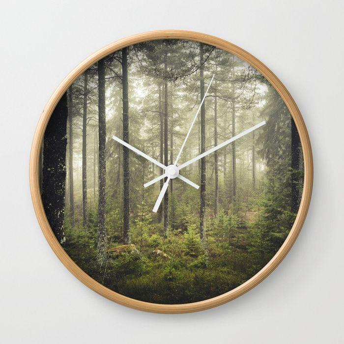 I never sleep Wall Clock by HappyMelvin | Society6