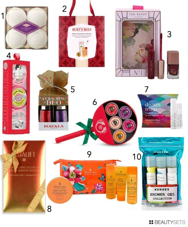 Christmas beauty gifts | Under £10