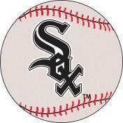 Chicago White Sox baseball floor mat