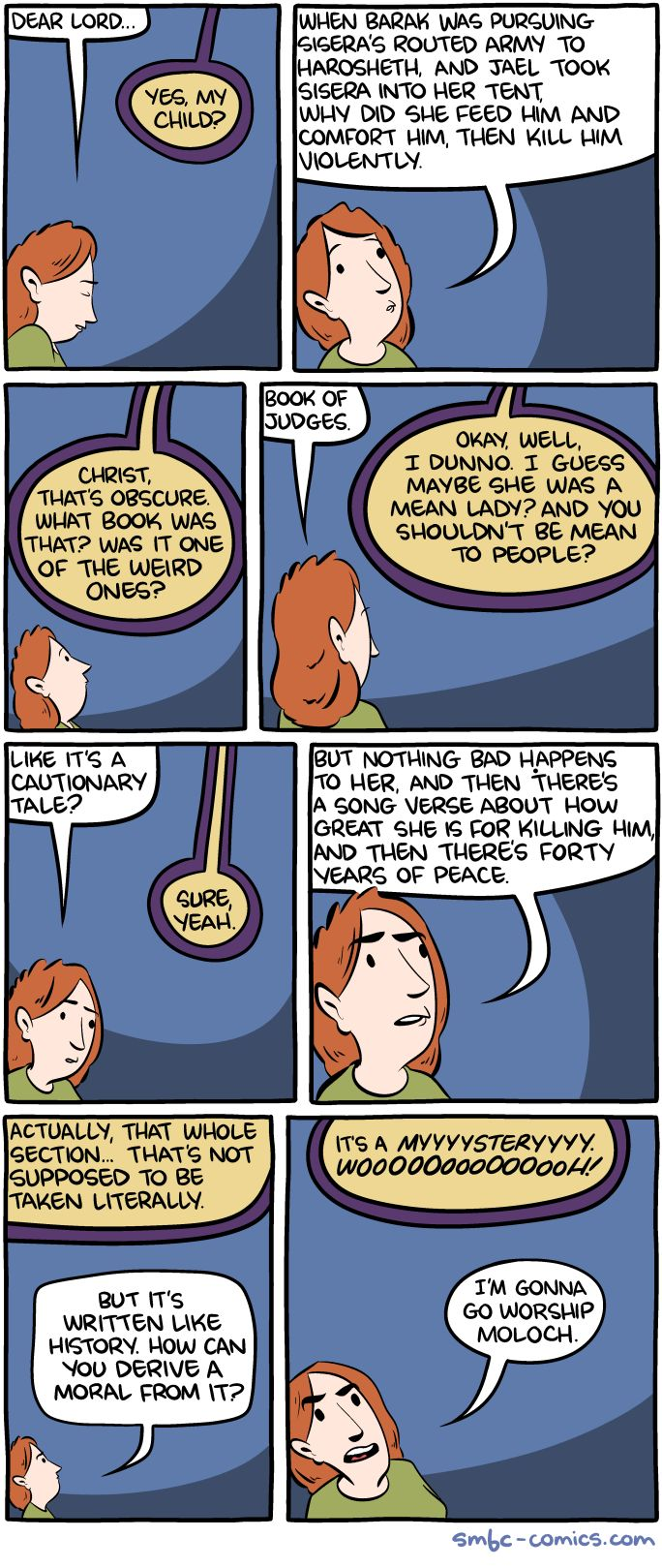 Saturday Morning Breakfast Cereal - Exegesis