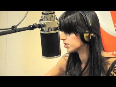 Brooke Fraser - Violet Hill (Coldplay cover) Live bei Radio Hamburg