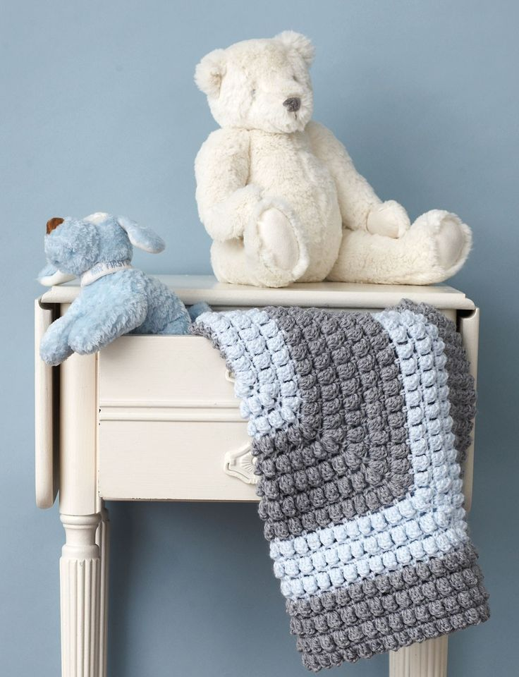 Patons Free Crochet Afghan Patterns : Yarnspirations.com - Patons All-Around Blanket - Patterns ...