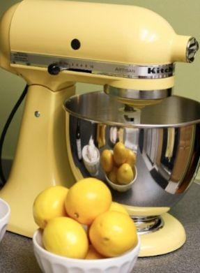 Yellow Kitchen Mixer