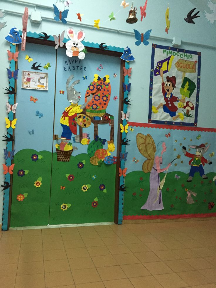 My classroom door by Giusy Cer
